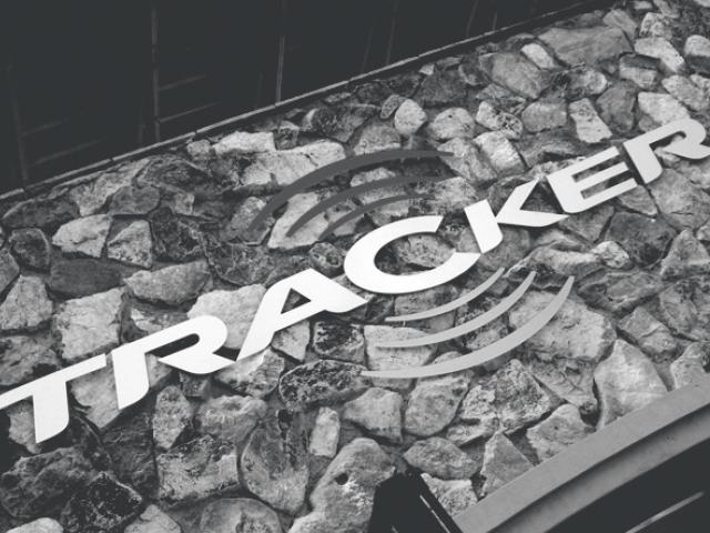 Tracker Signage